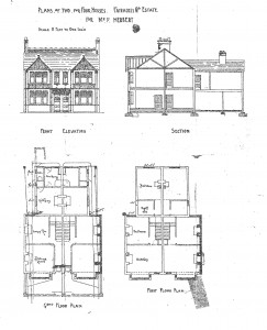 Parker Street plan, 1904