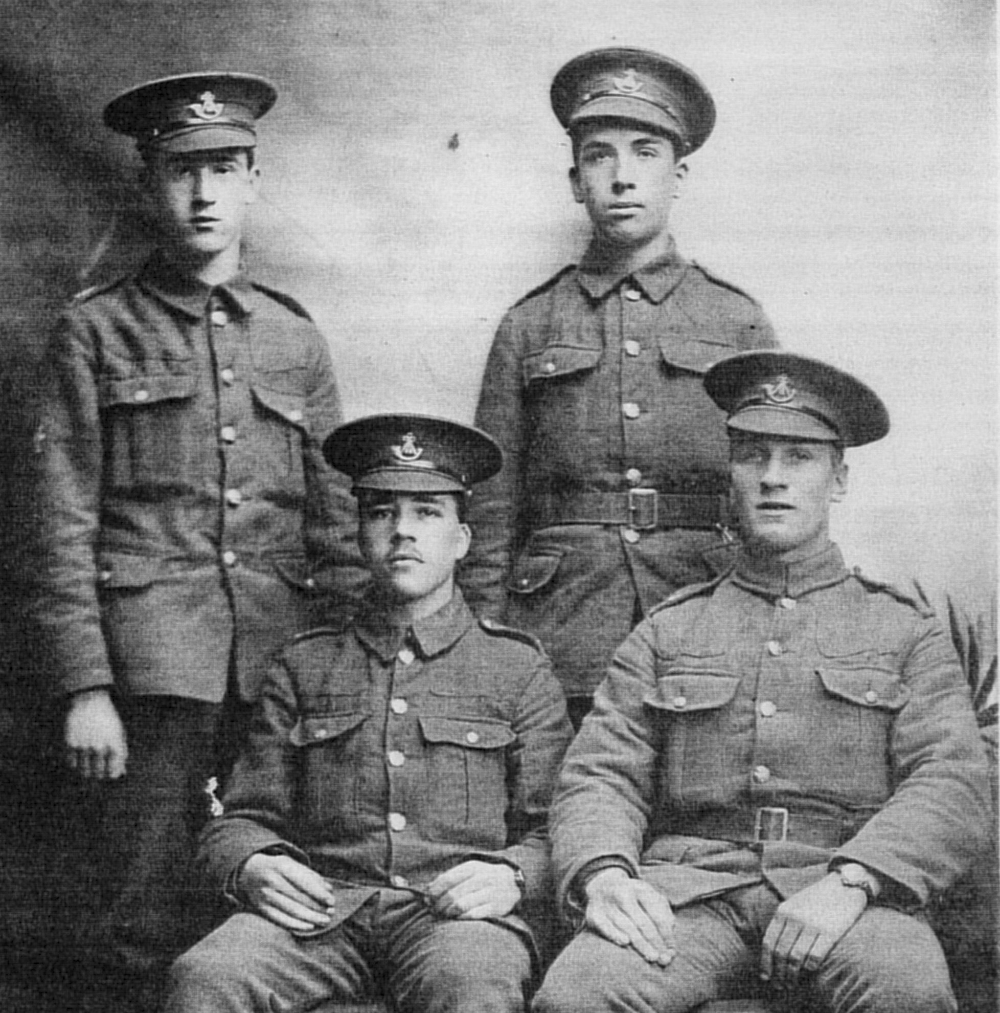 Grandpontsoldiers, 1915, courtesy of Jim Tallett
