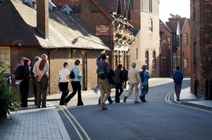 Walking in St Thomas', Sept 09