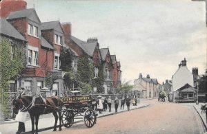 85 Kingston Road postcard front, Martin Burgess