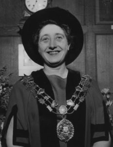 Olive Gibbs on being appointed Sheriff of Oxford in 1965